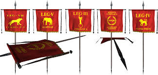 Roman Flag Colors Roman Flag Standards Image Rome At War2 Mod For Mount U0026 Blade