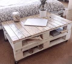 Pallet Coffee Tables Decorative Grey Wood Pallet Coffee Table Plain White Carpet Black