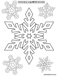 snowflake coloring pages coloring pages download print