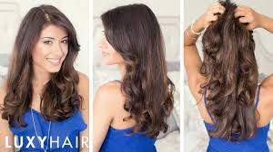 cutting hair so it curves under how to blow dry wavy youtube