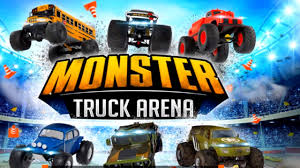 Monster Truck Arena Video Game Driving The Biggest And Most
