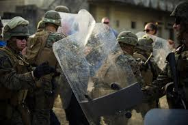 ready to fight 3d law enforcement battalion marines tested for