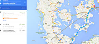 germany can i drive from the netherlands to copenhagen without