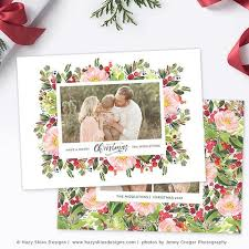 christmas u0026 holiday card templates photographers u2013 photoshop