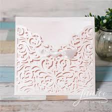 wholesale wedding invitations floral laser cut wholesale wedding invitation wpl0135