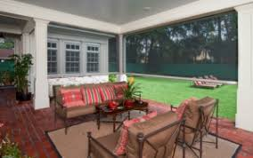 Retractable Awning With Bug Screen Retractable Patio Screens U0026 Awnings Tulsa Area Screen Company