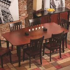 shaped dining table conrad grebel montclair boat shaped dining table colder s
