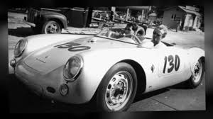porsche 550 spyder james dean and his silver porsche 550 spyder youtube