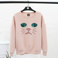 aliexpress com buy 2017 autumn new sweatshirt round neck sweet
