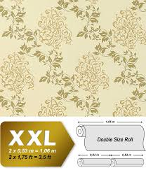 luxury floral wallpaper wall non woven edem 946 21 wallcovering