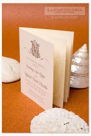 wedding programs trifold pulitzer custom collections