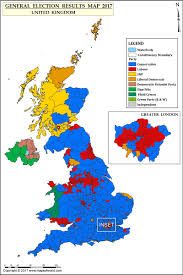 Map Election by Uk Election Results 2017 U0026 2015 Map Uk General Election Results 2017