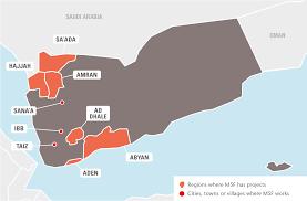 Where Is Yemen On The Map Yemen Médecins Sans Frontières Msf International