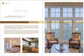 10 modern furniture catalog templates for interior decoration psd