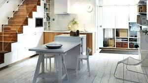table coulissante cuisine ilot de cuisine avec table enfin une cuisine oa lon mange ilot