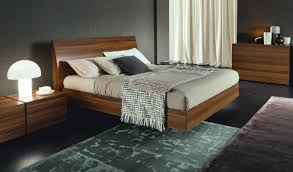 Verona Bed Frame Verona Platform Bed In Walnut Haiku Designs