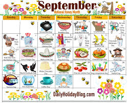 the new free september calendar is available to print