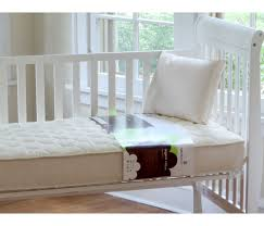 Organic Cotton Crib Mattress Naturepedic Quilted Organic Cotton Deluxe 252 Crib Mattress
