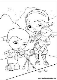 doc mcstuffins coloring picture disney coloring pages