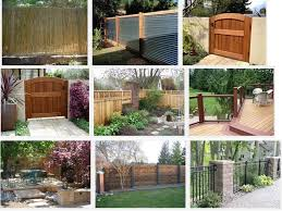 Garden Improvement Ideas Brilliant Privacy Ideas For Backyard 8 Backyard Privacy Fence