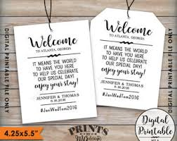 wedding hotel bags printable wedding welcome bag tags hotel bag labels out of