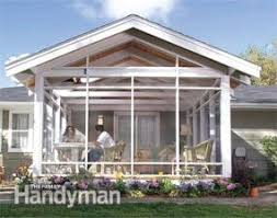 how to build a screen porch screen porch construction family