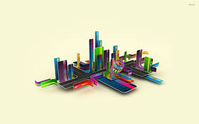 Colorful City Colorful City Wallpaper 3d Wallpapers 18354