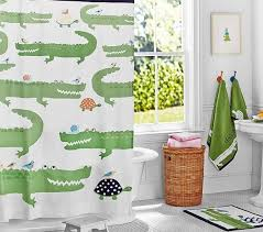 Pottery Barn Kids Shower Curtains Under The Sea Shower Curtain Pottery Barn Kids Childrens Shower