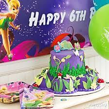 tinker bell fondant cake party