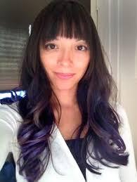 darker hair on top lighter on bottom is called pravana chromasilk vivids in violet and orchid 3 1 ratio demi