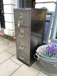Vintage Metal File Cabinet Metal Filing Cabinet This Works Perfectly Wood Furniture