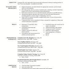 sample cover letter rn new grad nurse example application for 75