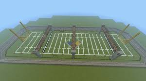 football field minecraft project