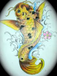 koi fish tattoo design 2 by magicmufinelf deviantart com on