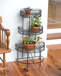 appealing metal plant stands indoor mid century modern for instant