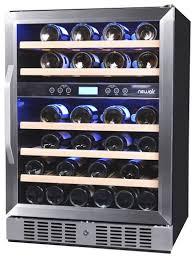 black friday wine fridge newair 46 bottle wine cooler silver awr 460db best buy