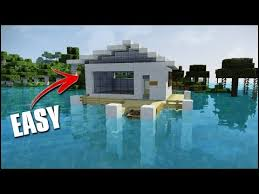 minecraft how to build a modern water house minecraft servers
