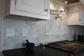Carrara Marble Kitchen Backsplash Bianco Carrara Marble Backsplash By Dalene Flooring Via Flickr