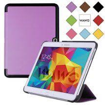 10 inch tablet black friday fintie folio premium vegan leather case cover for samsung tab 4