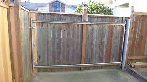 14 u0027 custom cedar driveway swing gate youtube