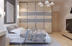Master Bedroom Wall Closets Master Bedroom Art Deco Style Large Closet With Sliding Doors