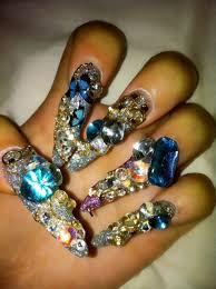blinged up nails japanese nail art and japanese nails