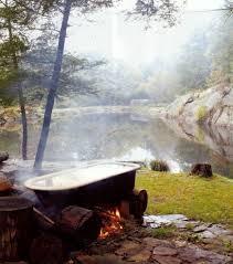 Wood Fired Bathtub Best 25 Outdoor Bathtub Ideas On Pinterest Galvanized Shower