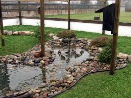 How Does An Outdoor Faucet Work Homesteady The Homestead Survival Easy Clean Duck Pond Homesteading