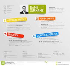 Free Creative Resume Template 100 Creative Cv Template Vector Vector Creative Resume