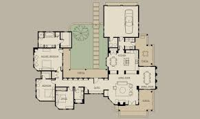 small courtyard house plans floor plan hacienda style courtyard home architecture plans 13237