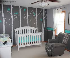 Wall Tree Decals For Nursery Tree Wall Decals Birch Trees Decal Nursery Tree Wall Decals