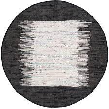 Black Circle Rug Rug Mtk711h Montauk Area Rugs By Safavieh