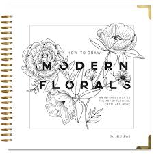 amazon com how to draw modern florals an introduction to the art