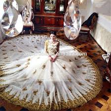 islamic wedding dresses rm701 saudi arabia beaded and white islamic real image